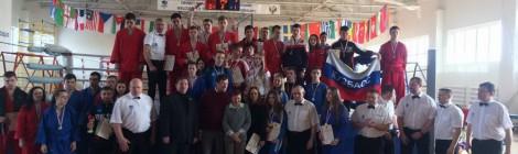 Первенство России по универсальному бою среди юниоров и юниорок 18-20 лет